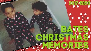 #TeamBates Christmas Moments 🎄| 2017-2020