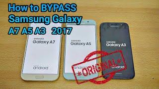 Bypass frp Google Account Samsung A7 2017, A5 2017, A3 2017 Tanpa PC