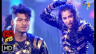 Somesh and Shresti Performance | Dhee Jodi | 10th July 2019 | ETV Telugu