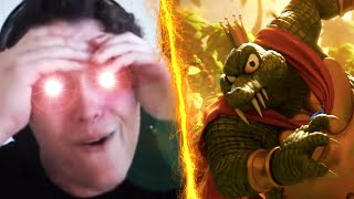 ROGERSBASE LIVE REACTION TO K ROOL IN SMASH BROS ULTIMATE!