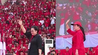 Apel Siaga PDI Perjuangan Jawa Tengah di Kota Solo