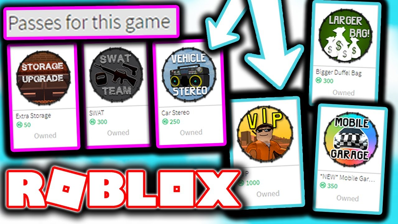 BUYING EVERY GAME PASS IN ROBLOX ...