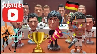 Germany NT World Cup 2014 DFB Deutsche Die Mannschaft Football Team Figure Amazing Collection