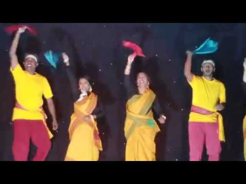 Oyilattam andKummi attam for Tamil christian song - ஒயிலாட்டமும் கும்மியாட்டமும்