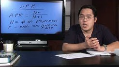 Math in Daily Life : How Is APR Calculated?