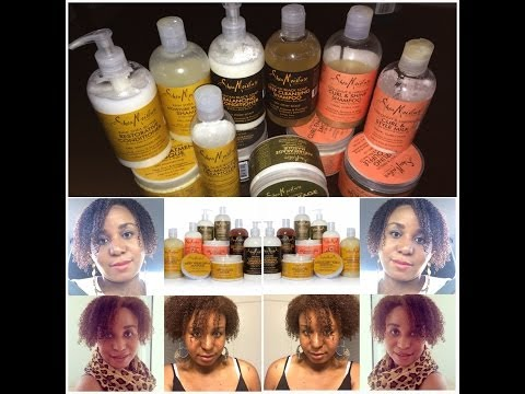 The Ultimate Shea Moisture Hair Product's Review