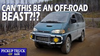Weird Name, Crazy Off-Road Rig - 1994 Mitsubishi Delica Space Gear