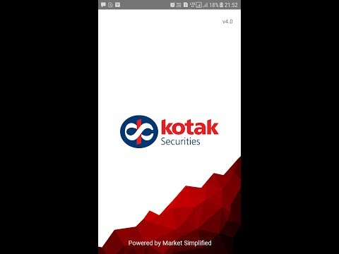 kotak securities trading demo  || kotak stock trader live demo