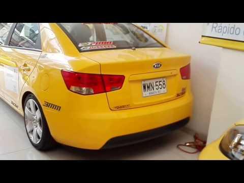 autonebo taxi Kia Grand Cerato modelo 2016 bogota vendo ANB