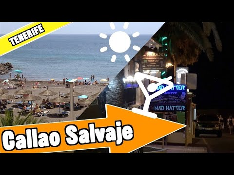 Callao Salvaje Tenerife Spain: Beach, nightlife and resort - Costa Adeje