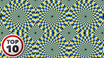 10 Uskomatonta Optista Harhaa/Illuusiota!
