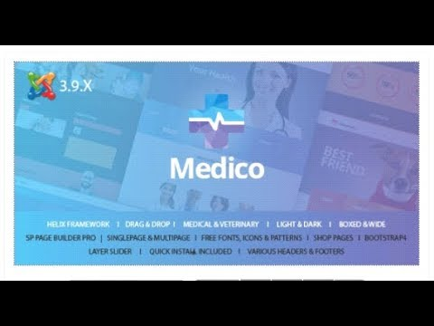 Medico - Medical & Veterinary Joomla Template With Page Builder | Themeforest Templates