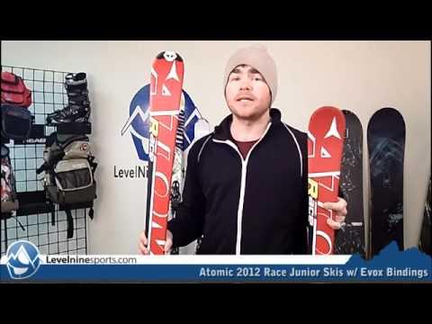 Atomic 2012 Race Junior Skis W/ Evox Bindings