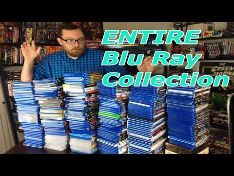 My ENTIRE Blu-Ray Movie Collection!!!