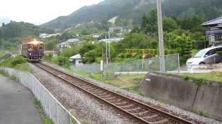 三陸鉄道南リアス線 36-R3形+36-700形205D 吉浜駅到着② 2014年6月22日