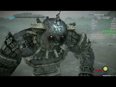 SotC Hard Speedrun in 1:47:11 (PS4/WR)