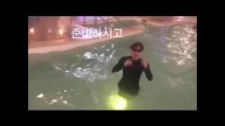 💘수영장에서 노는 방탄이들/(김석진,박지민,전정국)💘