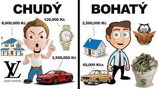 8 Rozdílů mezi chudými a bohatými