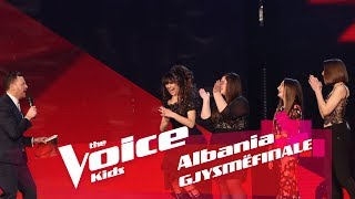 Dy finalistët e skuadrës Gjoka   Gjysmëfinale   The Voice Kids Albania 2018