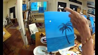 Florida Palm on the Beach