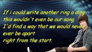 Greyson chance - home is in your eyes lyrics on screen