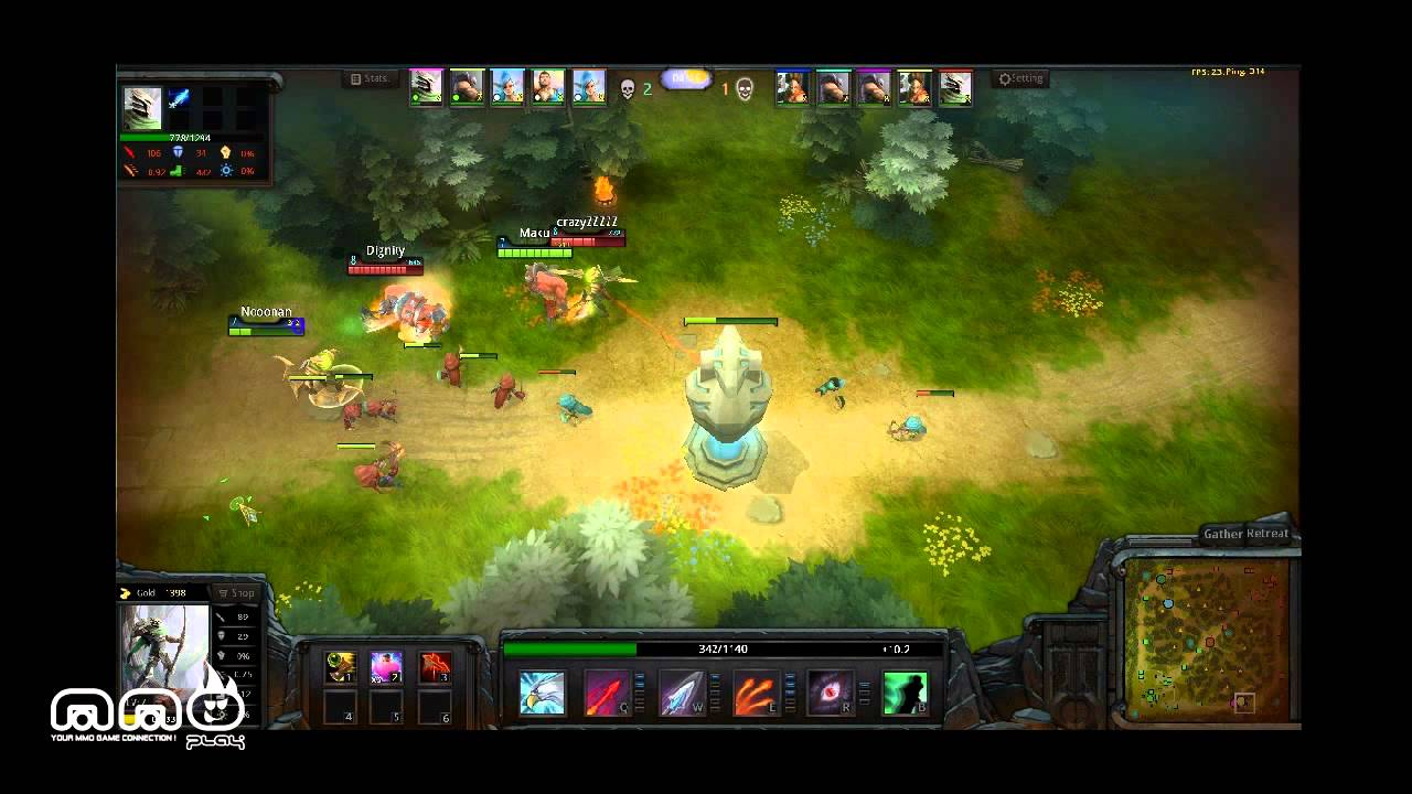 Crazy MOBA Online Gameplay First Look - HD - YouTube