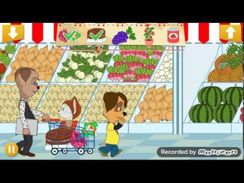 Играем в игру Барбоскины Супермаркет