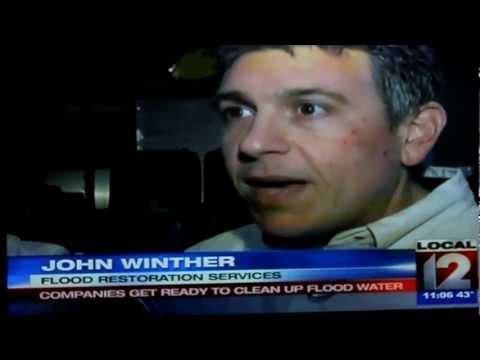 Flood Restoration Services Featured on Greater Cincinnati Local 12 News