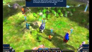 Elven Legacy - Siege gameplay