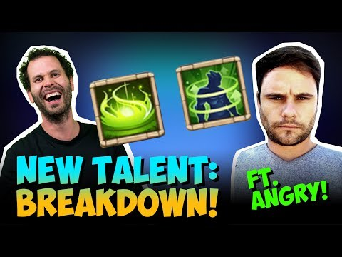 New Talent And Enchantment Talent INSANE Castle Clash