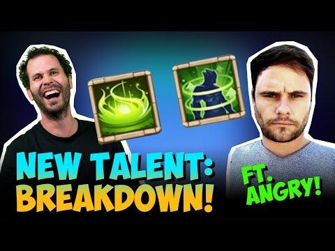 New Talent And Enchantment Talent INSANE Castle Clash
