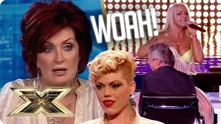 Auditions with ATTITUDE that seriously shocked our judges! | The X Factor UK