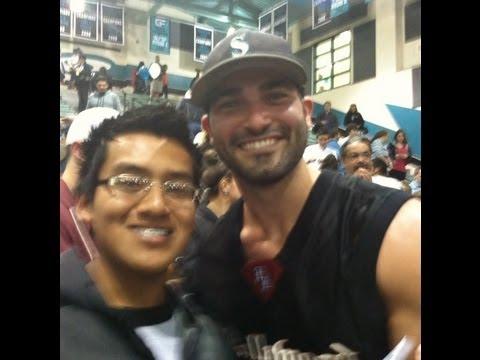 Tyler Hoechlin at Santiago High school