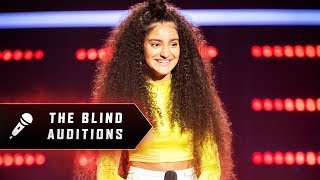 Blind Audition: Lara Dabbagh - Scars To Your Beautiful - The Voice Australia 2019
