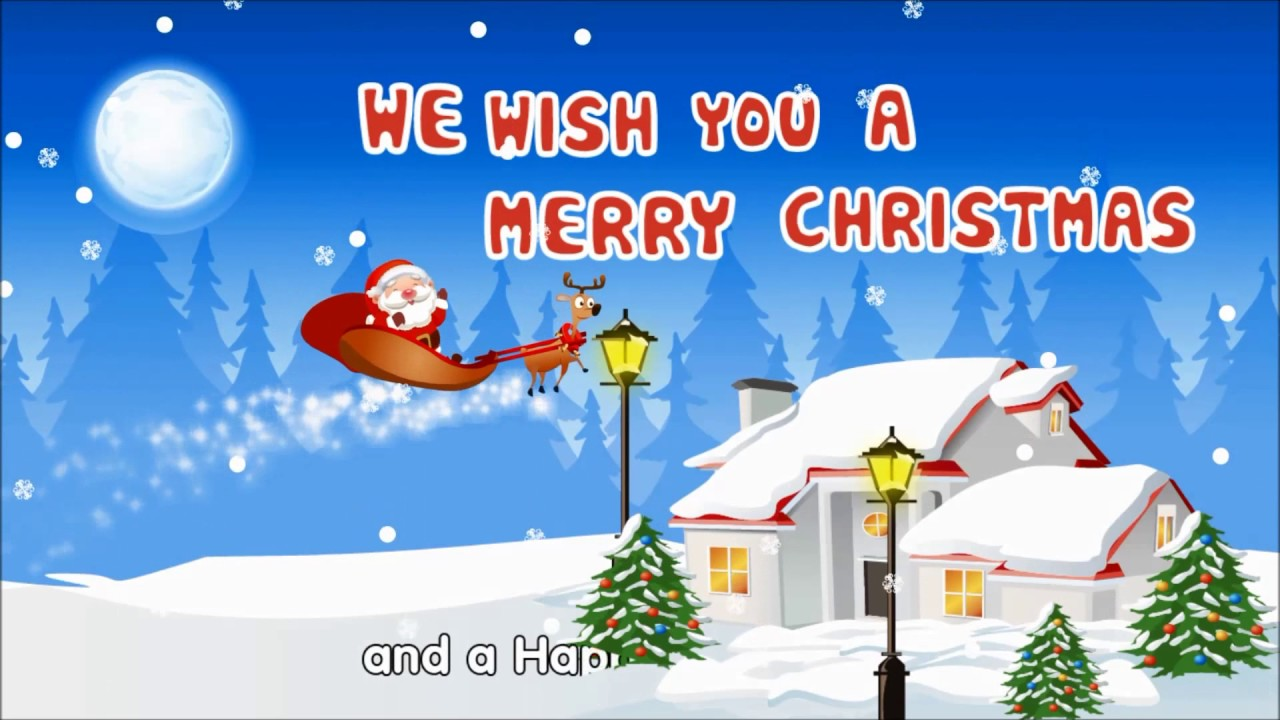 we wish you a merry christmas kids christmas songs by beebo world merry christmas everybody