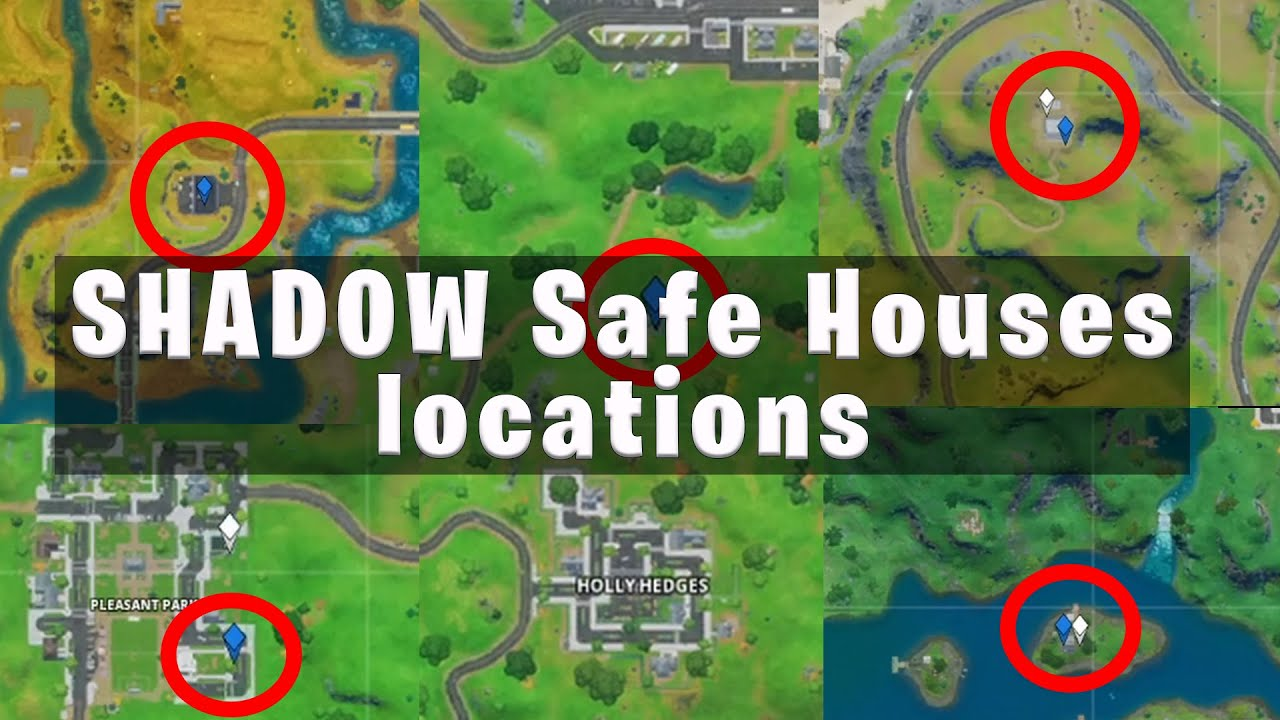 Find Shadow Safe Houses Fast Route Youtube