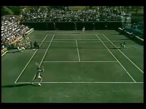 Bjorn Borg vs. Rod Laver  1976 Boca Raton , USA