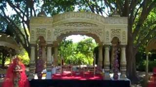 Indian Wedding Decorator-AAYOJAN- ROYAL PALACE MANDAP (Jodha Akbar Theme)@ Atlanta Botanical Garden