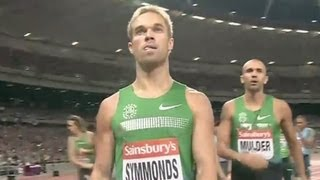 Nick Symmonds wins 800m in London  Universal Sports