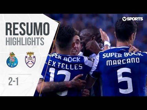 Highlights | Resumo: FC Porto 2-1 Feirense (Liga #33)