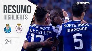 Highlights | Resumo: FC Porto 2-1 Feirense (Liga 17/18 #33)