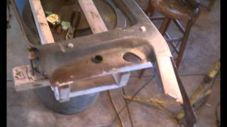 1966 Ford F350 Dump Truck, #5 (Core Support Restoration)