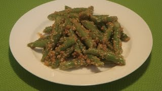 Green Beans With Sesame Seeds Recipe