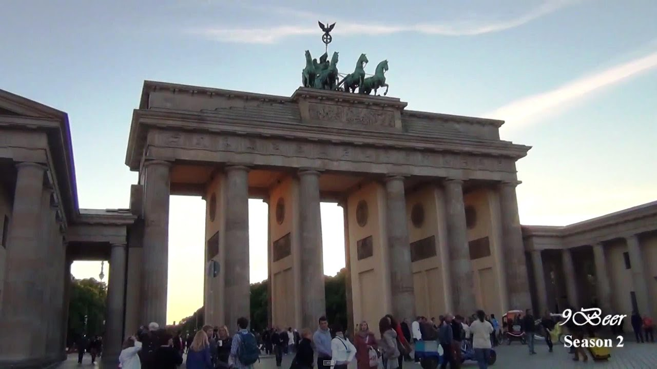 berlin part 2 berlin cruise brandenburg gate youtube. Black Bedroom Furniture Sets. Home Design Ideas