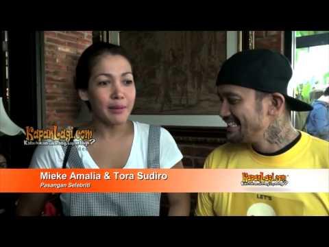 Tora Sudiro dan Mieke Amalia Stop Tambah Momongan