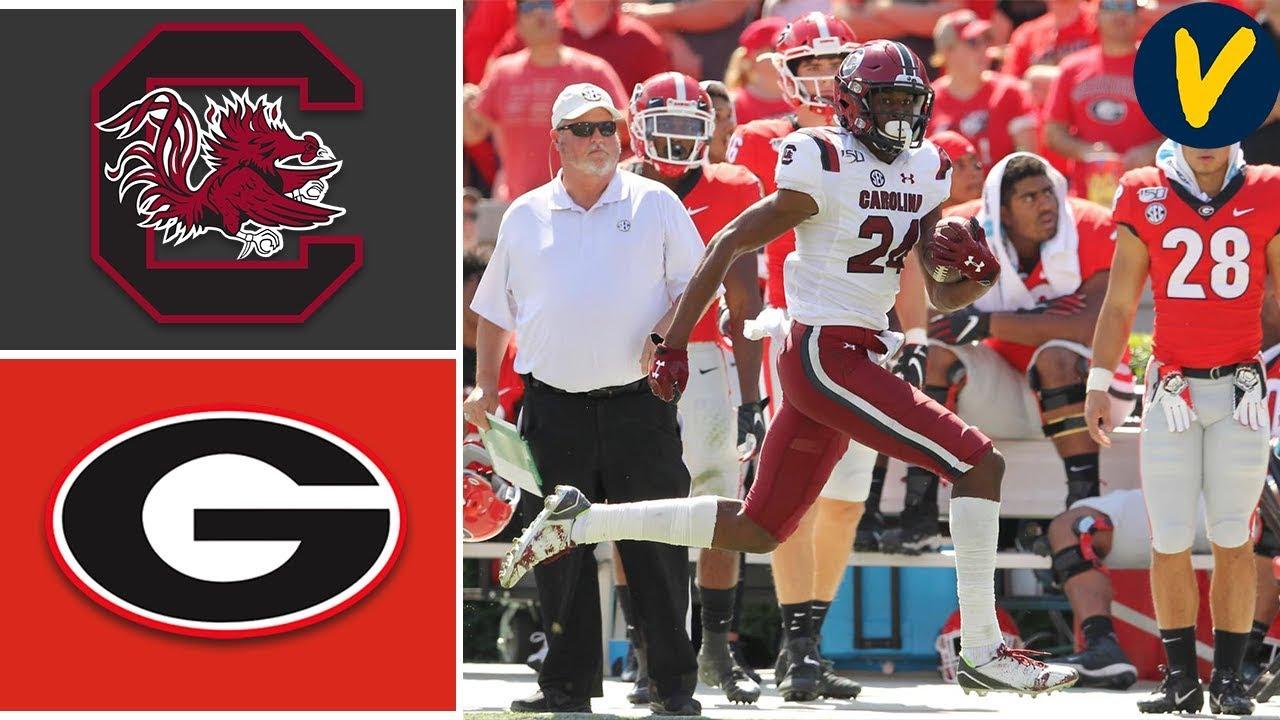 South Carolina vs #3 Georgia   Week 7   College Football   2019