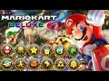 mario kart 8 deluxe   all tracks 200cc full race gameplay