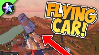 HOW TO FLY IN THE CAR! - Roblox Jailbreak