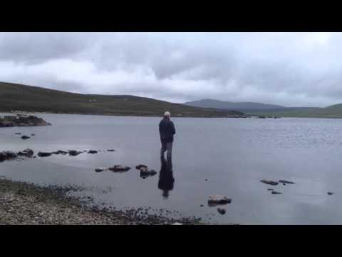 Trout Fishing At Clousta Loch, Shetland Westside
