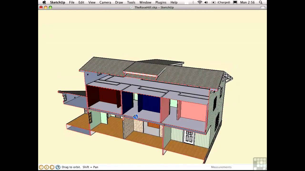 sketchup how to close a face